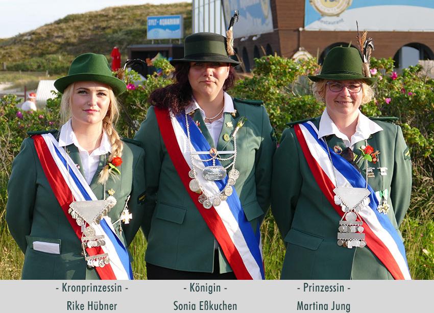 Schützenköniginnen Sylt 2019, 2020